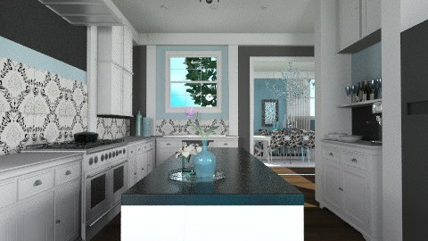 Afternoon Delight  - Kitchen - by jenshadow_222