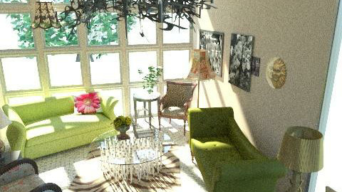 Living Area - Eclectic - Living room - by alenah