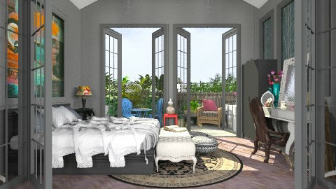 Black Beauty - Modern - Bedroom - by Your well wisher