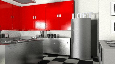 Dining In - Retro - Kitchen - by reedj0218