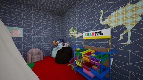 ruby ruby - Modern - Kids room - by Martir2