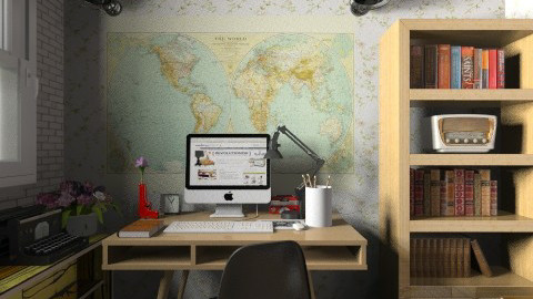 Retro Home Office - Retro - Office - by champorado