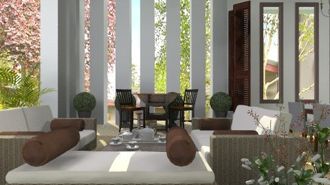 Outdoor lounge - Global - Garden - by liling