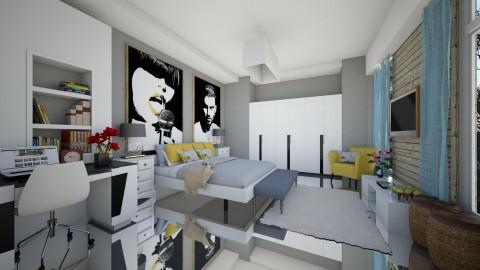 Ncris e July - Bedroom - by Roberta Coelho