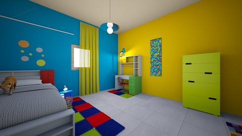 younes - Kids room - by LeiRech