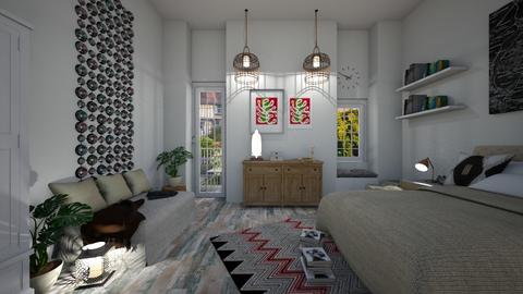 roomm - Living room - by SofiaMa