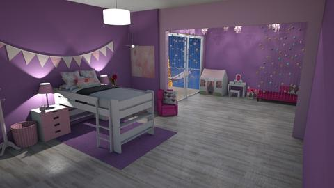 violete - Feminine - Kids room - by kellynazha