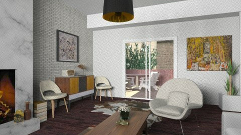 1950 - Classic - Living room - by Tuija