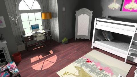 Girls Room - Classic - Bedroom - by lhornada
