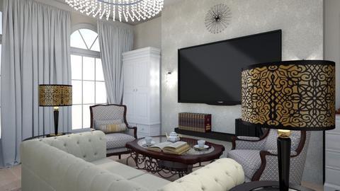 room_Artdeko - Living room - by Tatiana3030