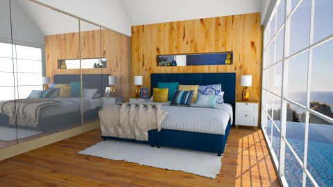 House reveal - Retro - Bedroom - by carina68