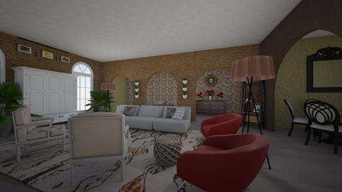 santa barbara style - Living room - by kla