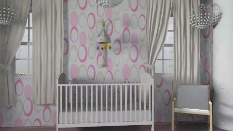 girl nursery - Modern - Kids room - by ioanavladut7