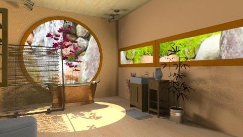 my dream bathroom 3 - Rustic - Bathroom - by Oliveira Fabio