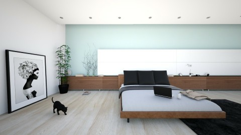 Modern Living - Bedroom - by Design_CG