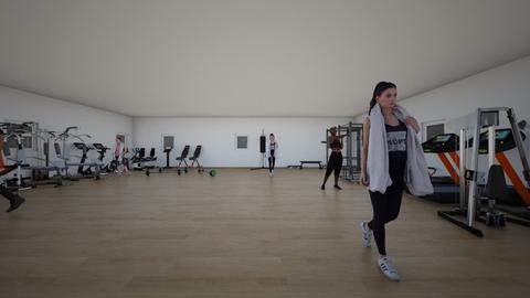 Gym - by laura laypanova 2009