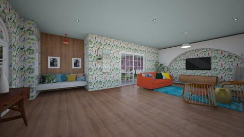 jungle - Living room - by msheridan287
