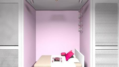 mi dormitorio - Retro - Bedroom - by Adriiana Bethencourt