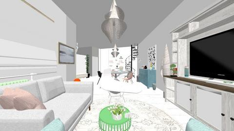Plan parter complet 1 - Living room - by decorina