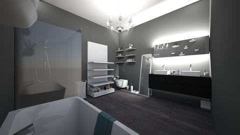 modern bathroom complete  - Modern - Bathroom - by jade1111