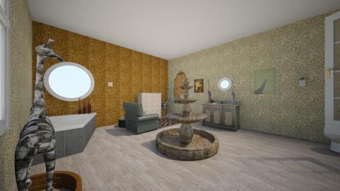 Giraffe - Bathroom - by thomas150