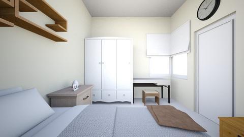 mom bedroom - Bedroom - by Natthanunsw