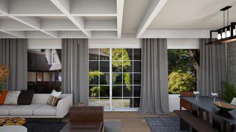 Doshi Living Room V2 - Living room - by louisdhe