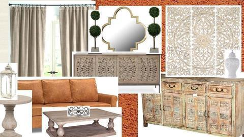 Living room mood board - by cbonilla96