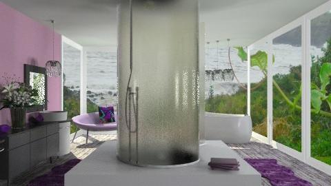 Maui Master Bath - Modern - Bathroom - by Adrienne Danyel