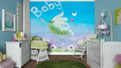 Fairy baby nursery - Classic - Kids room - by alleypea