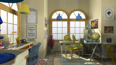 Office Snug - Eclectic - Office - by Trimble Official