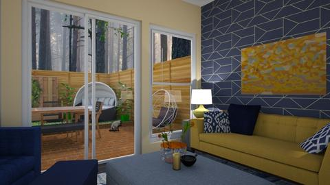 Garden template - Living room - by LooseThreads