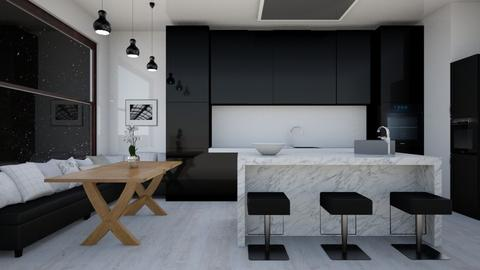 Contemporary Kitchen - Modern - Kitchen - by laurenpoisner