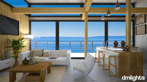 House In Toro Canyon - Modern - Living room - by KRdesign
