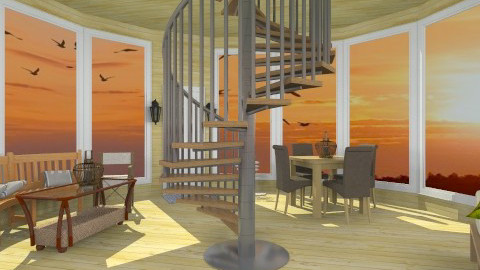 Rustic Lighthouse - Country - Bedroom - by HGranger2