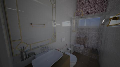 banheiro quarto samira - by Vanusabarral