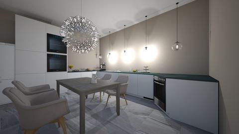 TV stue - Modern - Kitchen - by s08evhar