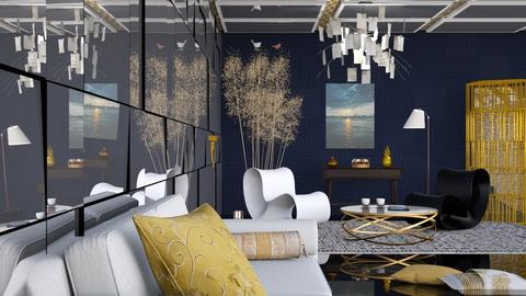 M_ Golden slumbers - Eclectic - Living room - by milyca8