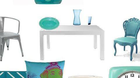 Aqua colour trend - by consider this design