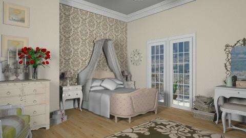 French Boudoir  - Bedroom - by teen bedroom