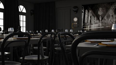 Sadness - Minimal - Dining room - by HenkRetro1960