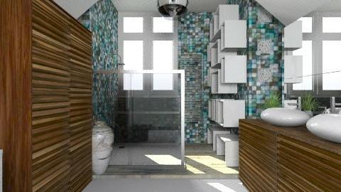 BlueBathroom - Modern - Bathroom - by StienAerts