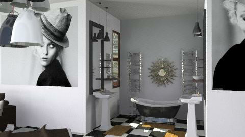 suite au paradis II - Glamour - Bedroom - by calu13