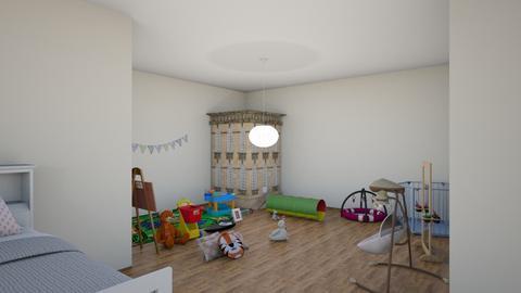 kids bedroom 3 - by maritaaslamazashvili