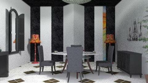 dining black - Modern - Dining room - by ana2000