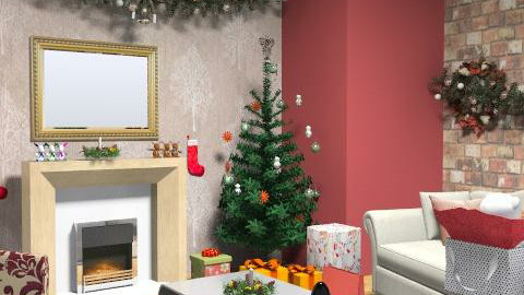 Xmas time with Marks & Spencer  - Rustic - Living room - by Kaddy
