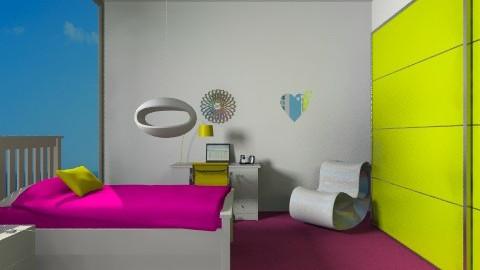 BEUTY ROOM - Bedroom - by megi94