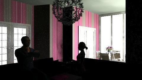 pink 'n' brown - Modern - Living room - by bubblebunny