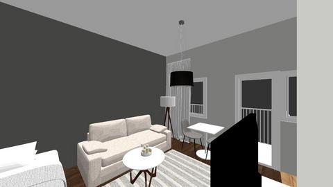 Aapelinkatu - Living room - by jerddu