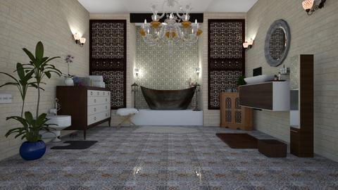 moroccan bath - Rustic - Bathroom - by agargidp